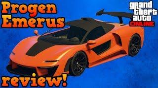 Progen Emerus review - GTA Online guides