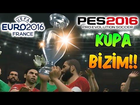 PES 2016 ile EURO 2016 #5 | FİNAL MAÇI-KUPA BİZİM!!