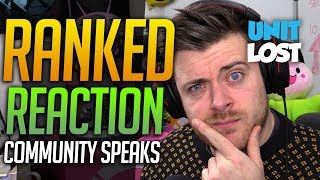 Overwatch - Ranked Reaction - The Community Speaks