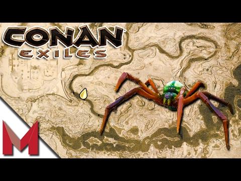CONAN EXILES GOSSAMER LOCATION / SPIDER CAVE -=- CONAN EXILES GAMEPLAY ...  Conan Exile