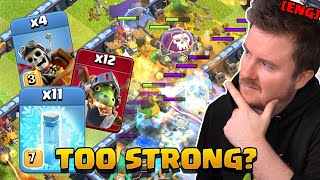 11 FREEZE Spells with Inferno Drags and Dragon Riders are INSANE | Clash of Clans English