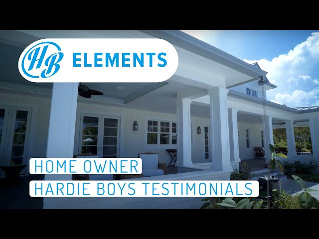 Home Owner | Hardie Boys Testimonial