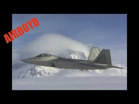 NORAD ANR F-22 Raptors (2010)