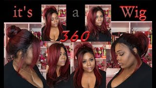 🔥😍It's A Wig | 360 All-Round | Deep Lace Wig | TTBURG review
