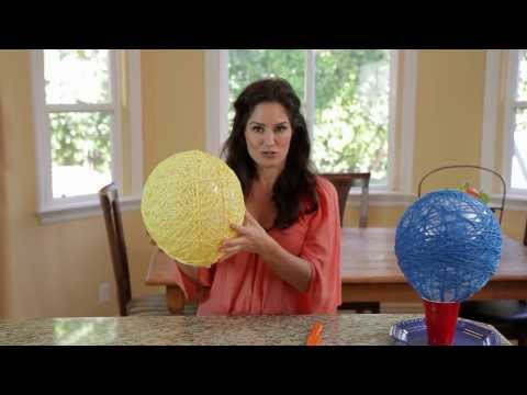 Tanya Memme DIY: Giant Yarn Eggs