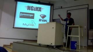 Lightning Talk no Caipira Ágil: Ruby On Rails para startups