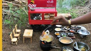 E#82 | Miniature Vada Pav (वडा पाव) | Mumbai Famous Goli Vada Pav Recipe | Miniature Cooking Show