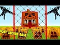 MOST SECURE PUMPKIN BASE EVER!   Little Kelly Plays