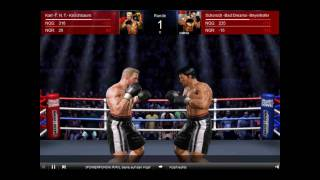 3D heavyweight boxing at smashdown online boxing game