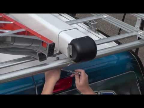Prime Design - Installing the Conduit Tube on an AluRack