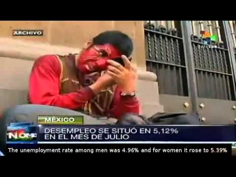 Mexico's unemployment rate climbs to 5.12%