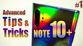 GALAXY NOTE 10+ Plus Advanced TIPS & TRICKS, New Unknown Features!🔥🔥