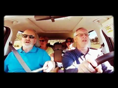 Grandparents carpool karaoke