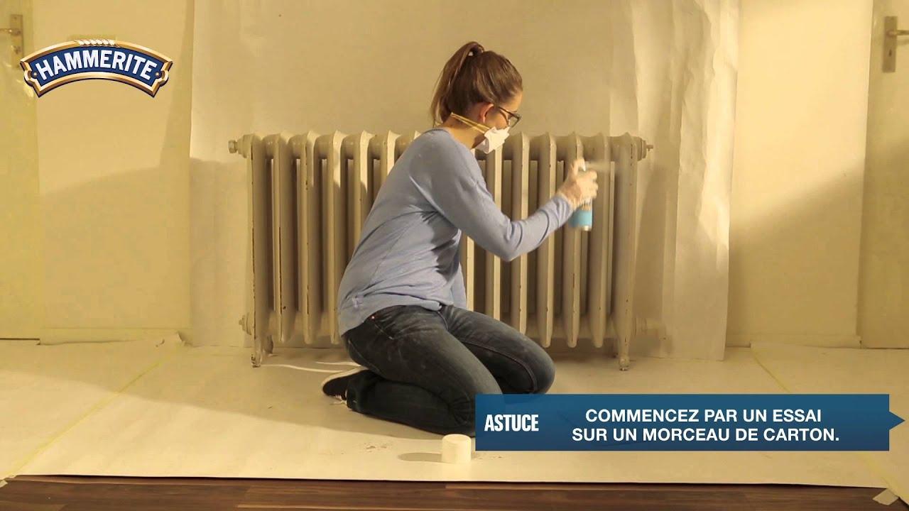 Comment peindre vos radiateurs avec un arosol   YouTube