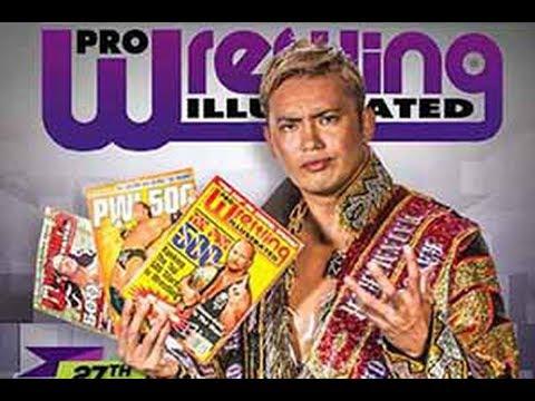 Hugo Savinovich ENOJADO con la revista Pro Wrestling Illustrated con su listado de lo mejor 2017