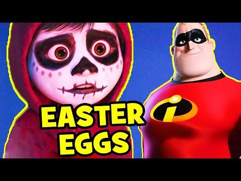 Coco EASTER EGGS, Pixar Theory & Cameos You Missed!
