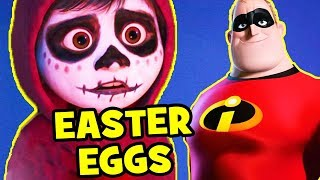 Coco EASTER EGGS, Pixar Theory & Cameos You Missed! thumbnail