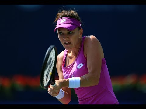 2017 Connecticut Open Second Round | Agnieszka Radwanska vs Eugenie Bouchard | WTA Highlights