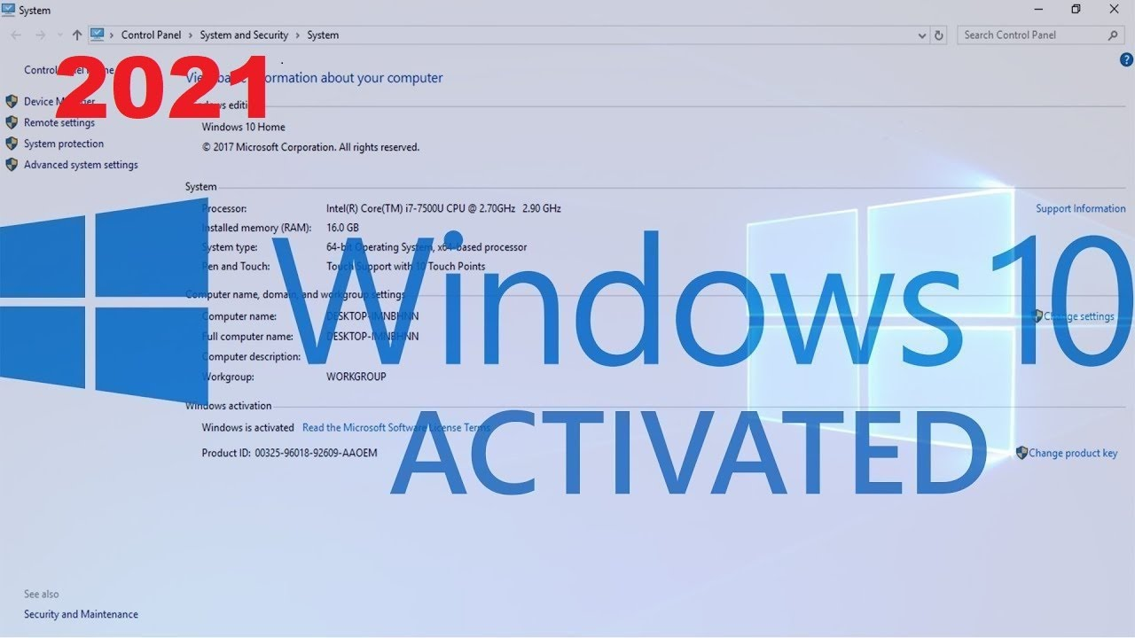 activate windows 10 pro product key crack