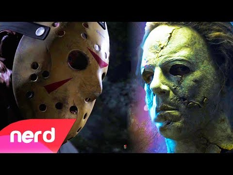 Thumbnail: Friday The 13th vs Dead By Daylight | Rap Battle | #NerdOut! (Jason Voorhees vs Michael Myers)
