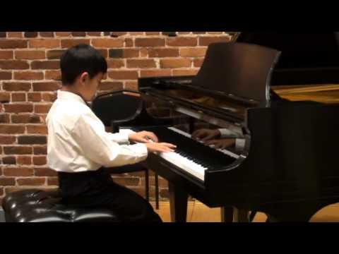 Justin Wang Performs at the Music Teachers' Association Student Recital