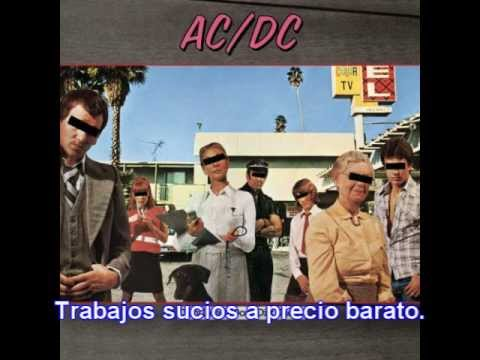 AC/DC - Dirty deeds done dirt cheap (Subtitulos en español)