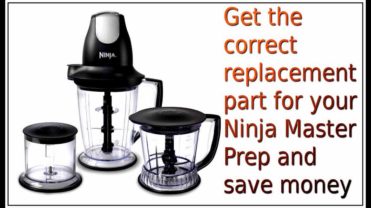 Ninja Master Prep Replacement Parts
