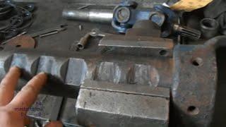 ремонт переднего ведущего моста трактора т 40