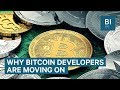 Why Bitcoin developers are moving to other cryptocurrencies