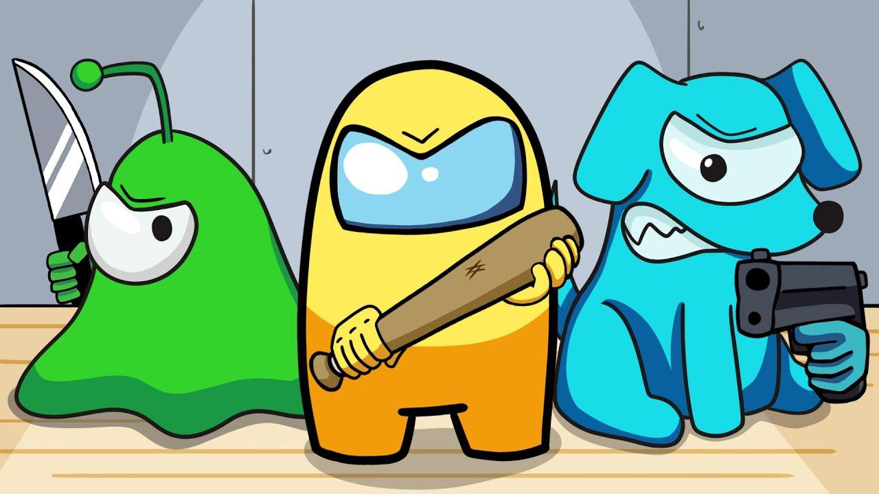 Among Us Logic: Monster School | Cartoon Animation
