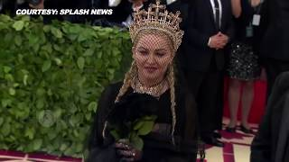 Met Gala 2018 Madonna STUNS Before Performance | #METGALA 2018