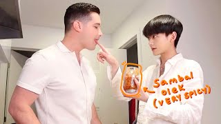 Speaking only Bahasa Indonesia for a day~ (my hubby's so patient pls watch)