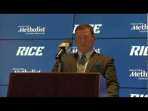 2017 Rice football -- new head coach Mike Bloomgren introductory press conference