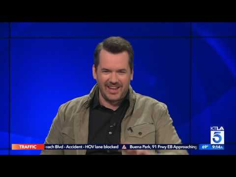 Jim Jefferies on how he got Brad Pitt to do the weather on his comedy show.