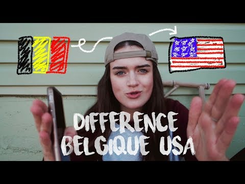 DIFFERENCE BELGIQUE/USA (bouffe, école, alcool,...)