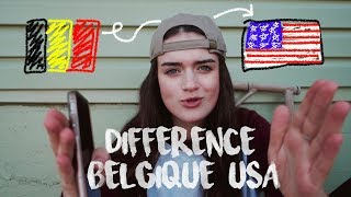 DIFFÉRENCES BELGIQUE/USA (bouffe, école, alcool,...)