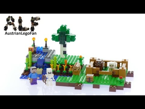 Lego Minecraft 21114 The Farm - Lego Speed Build Review