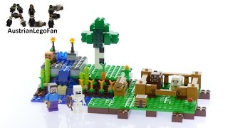Lego Minecraft 21114 The Farm - Lego Speed Build Review
