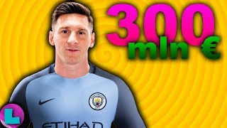 MESSI w Manchesterze City?! Za 300 mln€ !