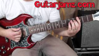The White Stripes - Icky Thump - Guitar Lesson tutorial - How to Play - Jack White