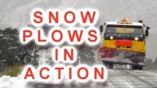 Big Snow Plow Trucks in Action | Kids DVDs and Videos | Lots & Lots of Trucks