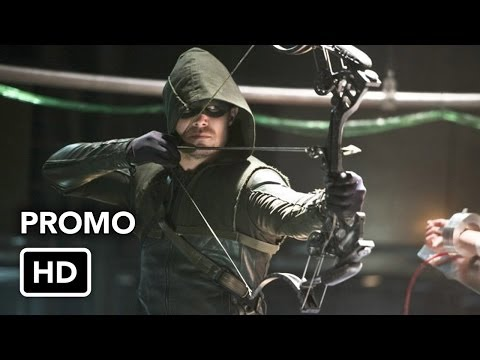 Two promos for next week's Arrow, 'The Man Under the Hood'