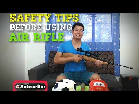 Basic Steps Using Air Rifle