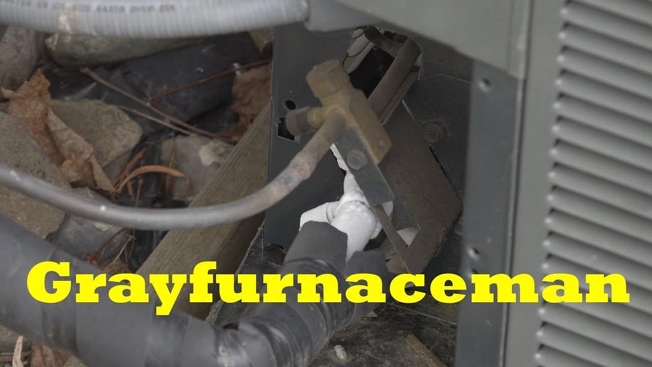 Troubleshoot the A/C part #5  fan runs, compressor runs, no air flow