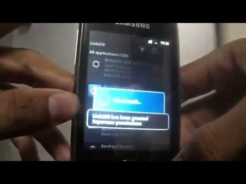 Tutorial How To Increase Internal Memory of Samsung Galaxy Y GT-S5360