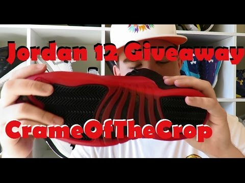 free jordan giveaway free giveaway air jordan 12 flu game unboxing and 3553