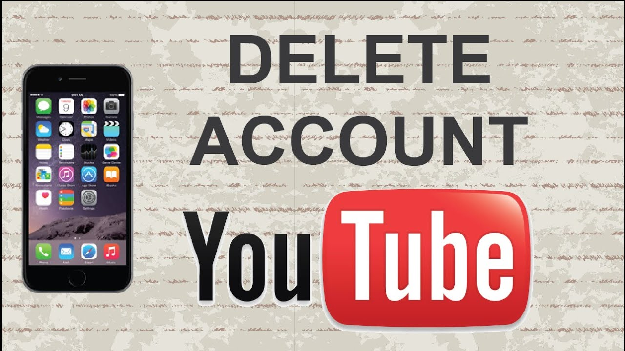 How to delete Youtube account | Mobile App (Android / Iphone)