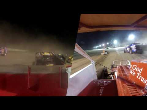 Albany Saratoga Speedway Feature 8/4/2017 Split Screen