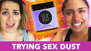 TRYING GWYNETH PALTROW'S SEX DUST FOR A WEEK (feat. Candace Lowry)!