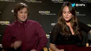 Haley Joel Osment and Yara Martinez guess at what